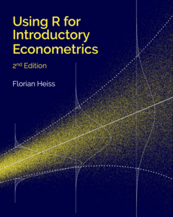 Using R for Introductory Econometrics: Amazon link